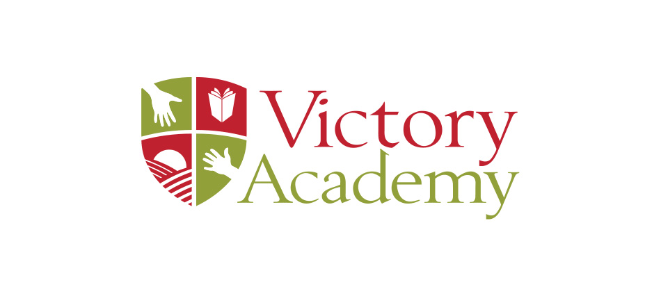 dream. build. thrive. The Campaign for Victory Academy logo